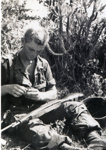 Digital photograph, U.S. Marine Richard Weber in Vietnam; 1966-1967; M2016.30.1