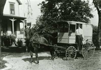 Photograph, Rabe's Dairy; 1914; M2011.1.10