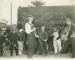 Photograph, Elmhurst City Council at CNW Right of Way Beautification Project; c. 1939; M82.5.2