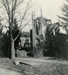 Photograph, St. Mary's Catholic Church fire ruins; 1898; M2014.1.429