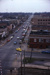Slide, Photographic; Aerial view of Elmhurst from the roof of the Elmhurst National Bank Building; Robert Kross; 1975; M91.70.283