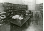 Photograph, Elmhurst High School Office and Library; 1909; M2016.1.296
