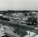 Photograph, Aerial, Elmhurst Chicago & North Western Railroad tracks & station; circa 1960; M88.49.1