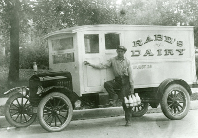 Photograph, Rabe's Dairy; 1922; M2011.1.11