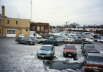 Photograph, Municipal parking lot; 1988; M2012.28.28
