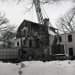 Photographic Negative, Demolition of Immaculate Conception Convent at 205 Cottage Hill Avenue; Press Publications; circa 1965; M98.5.224