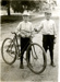 Postcard, Julius Graue, Jr. and George Graue.; circa 1909; M96.10.44