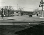 Photograph, Addison Ave and Cottage Hill Ave Railroad Crossing.; Ralph Mahon; December 4, 1967; M2017.1.412