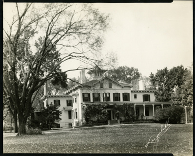 Photograph, Elmhurst Public Library; Lugibihl Studio / 102 W. Park Ave. / Elmhurst, Ill.; circa 1925; M2014.1.511