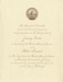 Invitation, U. S. Presidential Inauguration; 1977; M2016.1.597