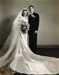 Photograph, Bugarewicz-Colwell wedding portrait; April 25, 1942; M2006.26.3