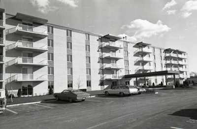 Photographic Negative, Royal York Apartments; Press Publications; circa 1970; M98.5.170