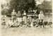 Postcard, Elmhurst Teddy Bears football team; circa 1910; M2014.1.753