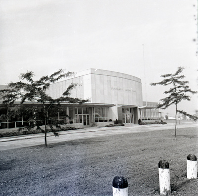 Photographic Negative, Sandburg Junior High School; Press Publications; 1960s; M98.5.295