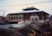 Photograph, Elmhurst Police Station under construction; January 1990; M2012.28.7