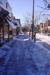 Slide, Photographic; East Side of N. York Street following a snowfall; Robert Kross; 1975; M91.70.221
