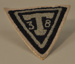 Patch, Elmhurst Travelers Football uniform; 1938; M2012.7.1