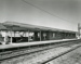 Photograph, Chicago & North Western RR Station; 1967; M2003.32.1