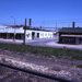 Slide, Photographic; Langkafel Garage and Moeck Tailor Shop; Robert Kross; 1976; M91.70.315
