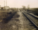 Photograph, St. Charles Road Railroad Crossing; George Lawrence Co/Chicago; 13 Nov 1909; M2007.32.5