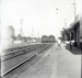 Photograph, Chicago Aurora and Elgin trains near Spring Road Station; 1955; M2017.40.8