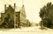 Photograph, Glos Block on York Street; C.R. Childs Photograph Postcard, Chicago; circa 1912; M2017.1.538