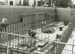 Photograph, Construction Work on the Sewage Treatment Plant - Aeration tank; M94.15.73