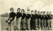 Photograph, York Community High School football team; circa 1920; M2014.1.858