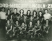 Photograph, V-Eights girls' softball team; 1939; M80.20.1