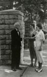 Photograph, Daniel Irion & Elmhurst College students; 1930; M2015.1.5