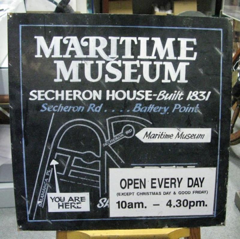 sign maritime museum of tasmania a 2011 017 on ehive. Black Bedroom Furniture Sets. Home Design Ideas