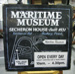 Sign, Maritime Museum of Tasmania; A_2011-017