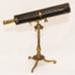 Telescope, Gregorian, brass,sharkskin, wood; 1733-1755; 88.58
