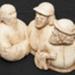 Sculpture ' Inhabitants of Langle Bay'; Simon, Joelle; 88.4