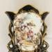 Vase, black and gold porcelain Limoges; Limoges; 88.22