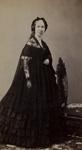 Untitled [Studio portrait of an elderly woman in a black mourning dress]; Powelson; ca. 1860; 1975:0031:0023