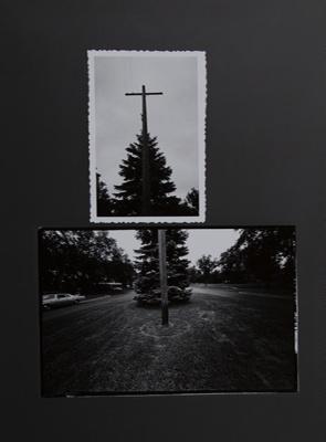 Untitled [Utility pole]; Sample, Tricia; 1973; 1986:0008:0002