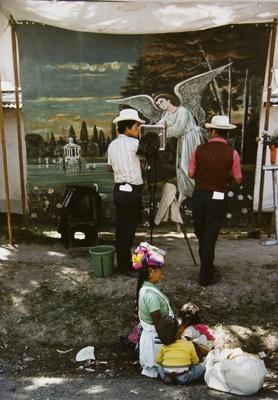 Itinerant Photographers At Work, Huehuetenango, Guatemala; Parker, Ann; ca. 1973; 2009:0056:0007