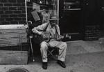 Untitled [Man playing guitar]; Shustak, Larence N.; ca. 1960; 1971:0182:0001