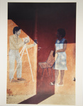 Untitled [Studio mural]; Viditz-Ward, Vera; 1988; 2009:0055:0009