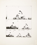 Untitled [Motorcycle rider]; Wood, John; ca. 1965; 1975:0012:0030
