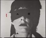 Untitled [Face with cutouts]; Pozzi, Lucio; 1981; 1981:0123:0033