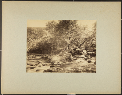 Watersmeet, The Two Streams; Bedford, Francis; ca. 1880; 1979:0104:0001