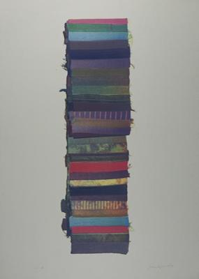 Untitled [Fabric pile]; Lyons, Joan; 1974; 1974:0050:0001