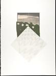 Untitled [Landscape and zig-zags]; Wood, John; 1980; 2000:0104:0010