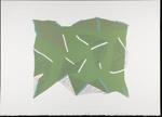 Untitled [Green shape]; Wood, John; 1980; 2000:0104:0007