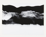 [Untitled, abstract image of mountains and water]; Wells, Alice; 1964; 1972:0287:0089