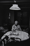 Untitled [Woman at table]; Saur, Francoise; ca. 1970s; 1986:0016:0007