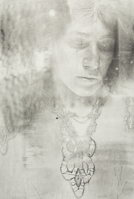 Untitled [Woman with necklace]; Lyons, Joan; 1974; 1975:0006:0002