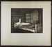 [log bed in log cabin]; Hahn, Alta Ruth; ca.1930; 1982:0020:0019